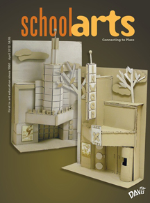 School Arts magazine cover
