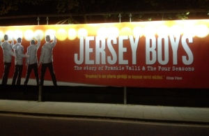 The Jersey Boys billboard