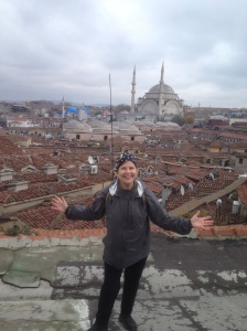 Me on roof of Grand Bazaar.